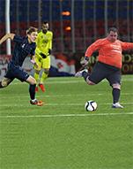 Pe fotbal